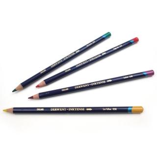 Набор акварельных карандашей Derwent Inktense 72 цвета, металлический пенал