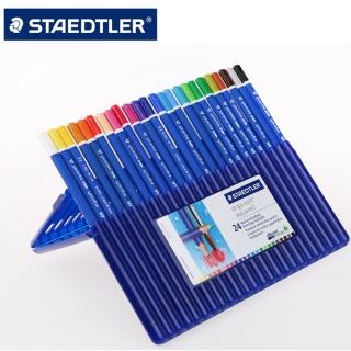 Набор цветных карандашей акварельных ergosoft , треугольные, 24 шт в наборе