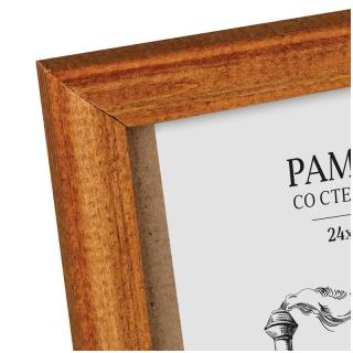 Рамка деревянная 24*30см, OfficeSpace, №1, мокко, 17мм