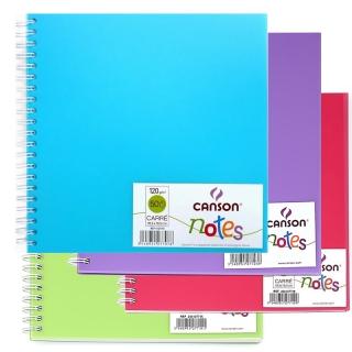 Блокнот на спирали Notes 120г/м.кв 18.5*18.5см 50л пластиковая обложка