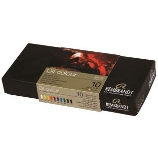 Набор масляных красок в тубах Rembrandt Royal Talens, 10 цветов