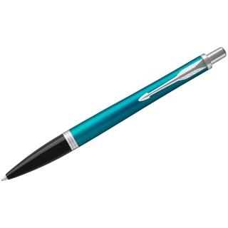"Ручка шариковая Parker ""Urban Vibrant Blue CT"" синяя, 1,0мм, кнопочн., подар. уп."