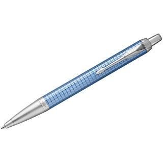 """Ручка шариковая Parker """"IM Premium Blue CT"""" синяя, 1,0мм, кнопочн., подар. уп."""