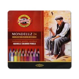 Акварельные карандаши Mondeluz KOH-I-NOOR  для художественного творчества, 24 цвета