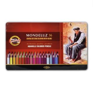 Акварельные карандаши Mondeluz KOH-I-NOOR  для художественного творчества, 36 цветов