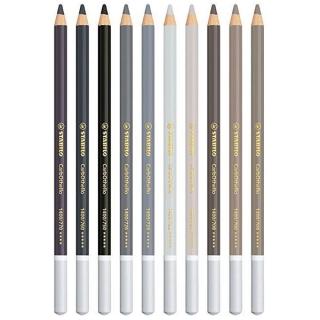 Подарочный набор пастельных карандашей Stabilo CarbOthello, 60 цветов, ластик, точилка, растушевка, в деревянной шкатулке