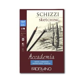 Альбом-склейка Accademia Sketching FABRIANO мелкозернистая бумага 120г/м2, А5, 50л