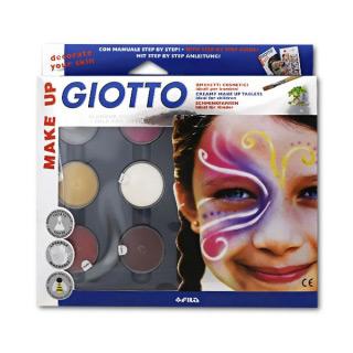 Грим-крем GIOTTO Make up FILA для фейс-арта, боди-арта и детского грима, фантазийные цвета, 6 шт.