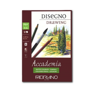 Альбом-склейка Accademia Sketching FABRIANO мелкозернистая бумага 200г/м2, А4, 30л