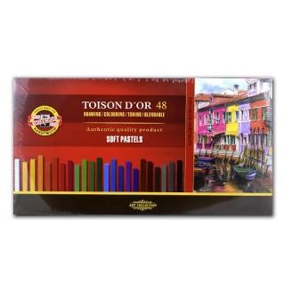 Пастель сухая мягкая Toison D-or KOH-I-NOOR для профессионалов, 48 цветов