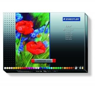 Масляная пастель Karat, 36 цветов, 11мм, картонная коробка