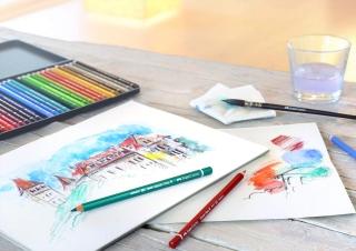 Акварельные карандаши Faber-Castell Albrecht Dürer профессиональные, набор 36 цветов