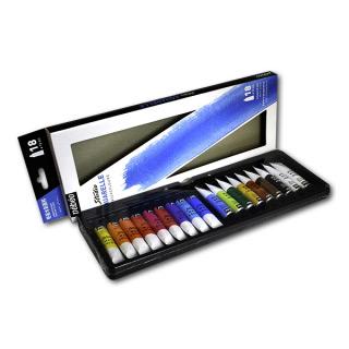 Акварельные краски Studio Aquarelle PEBEO, набор 18 цветов по 12 мл