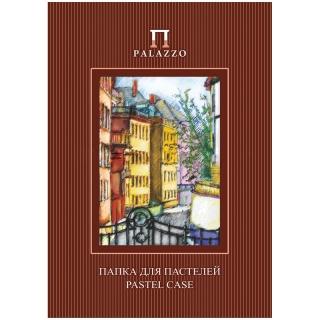 """Папка для пастелей 10л. А4 Лилия Холдинг """"Палаццо.Италия"""", 280г/м2, рисовальная бумага, слоновая кость"""