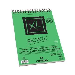 Альбом для графики Canson Xl 160г/кв.м 21*29.7см 50листов Мелкое зерно спираль по короткой стороне