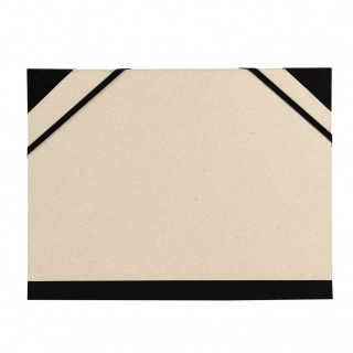 Папка Canson Carton a Dessin Brut Customisable Canson 2 эластичные резинки 37*52см бежевый картон