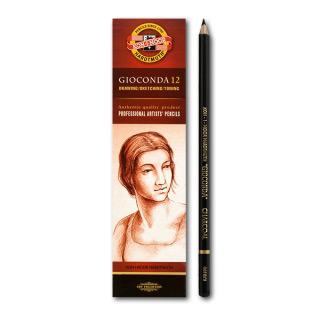 """Художественные угольные карандаши KOH-I-NOOR """"Gioconda"""" для рисования, твердость 2, поштучно"""