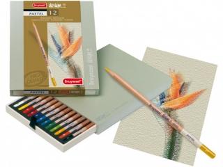 Подарочный набор пастельных карандашей Bruynzeel Design Pastel, 12 цветов
