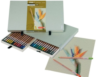 Подарочный набор пастельных карандашей Bruynzeel Design Pastel, 24 цвета