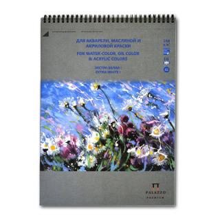 """Альбом """"Русское поле"""" для акварели, масла и акрила, Premium Лилия Холдинг, 180 г/кв.м, 25х35 см, 20 л."""