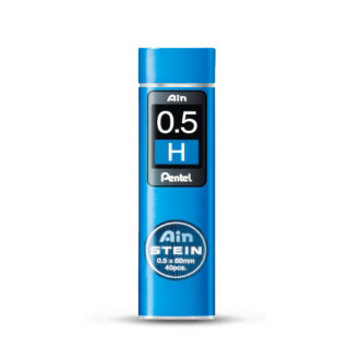 Грифели для автоматических карандашей Pentel Ain Stein 40 шт. 0.5 мм (B  HB H)