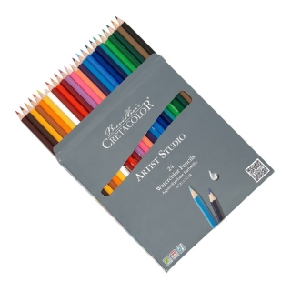 Набор художественных акварельных карандашей Cretacolor Artist Studio Line, 24 цвета