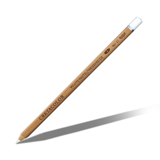 Карандаш для рисования белый мел CRETACOLOR нежирный, мягкий