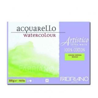 Склейка для акварели Artistico Fabriano, 30,5х45,5см., 300 г, 20л. крупное зерно