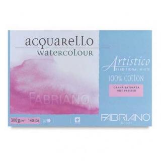 Склейка для акварели Artistico Fabriano 30,5х45,5см, 300г, 20л. холодн.прессования