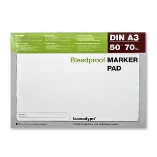 Бумага для маркеров COPIC, формат А3, плотность 70 г/м2, 50 листов
