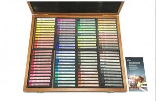 Подарочный набор сухой пастели Gallery Semi Hard Pastel Mungyo, 96 цветов