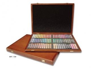 Подарочный набор профессиональной мягкой пастели Gallery Mungyo, 72 цвета