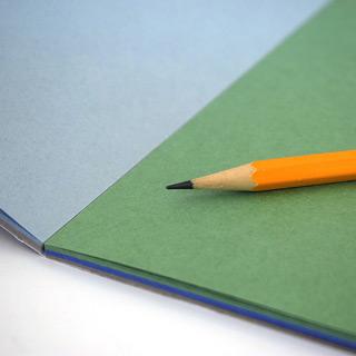 """Планшет для пастели """"Бабочка"""" Лилия Холдинг, цветная бумага 4 цв., 200 г/кв.м, формат А4, 20 л"""