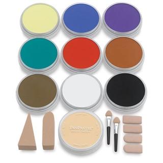 Художественный набор ультрамягкой пастели PanPastel «Painting», 10 цветов, инструменты