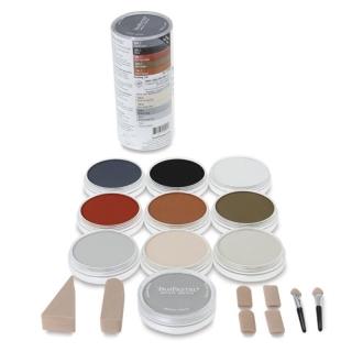 Набор ультрамягкой пастели PanPastel «Drawing», 10 цветов, инструменты