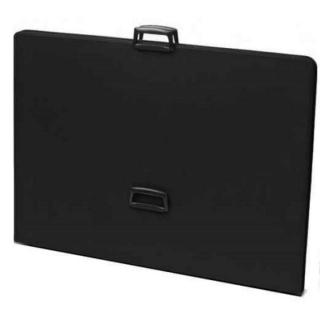 Папка на молнии для рисунков формата А1 Economy Teloman, черная