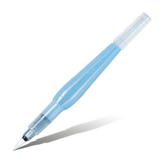 Кисть для рисования заправляемая 2 в 1 с резервуаром Pentel Aquash Brush средняя круглая