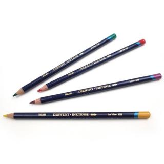 Цветные водорастворимые чернильные карандаши Derwent Inktense, цвета поштучно
