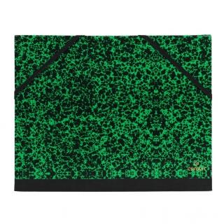 Папка Canson Carton a Dessin Studio Canson 2 эластичные резинки размер 37*52см Цвет зеленый