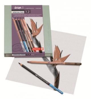 Набор для художников Bruynzeel Design 12 предметов в подарочной упаковке