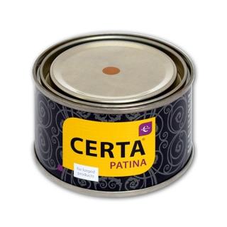 Декоративная эмаль для металла CERTA PATINA патина эффект старины,  0.08кг