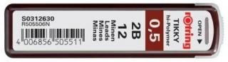 Стержни для механических карандашей Tikky, 0.5 мм