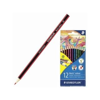 Набор цветных карандашей Noris Color шестигранные,Wopex, 12 цветов