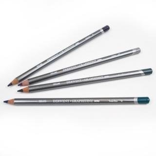 Набор акварельных карандашей Derwent Graphitint 24 цв., в металлическом пенале