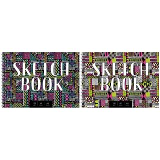 """Скетчбук-блокнот для эскизов и зарисовок 60л. А5 на гребне ArtSpace """"Sketchbook"""", 120г/м2"""