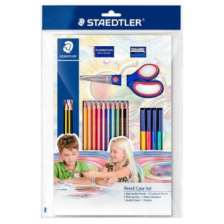 Набор карандашей и принадлежностей для рисования, 19 предметов