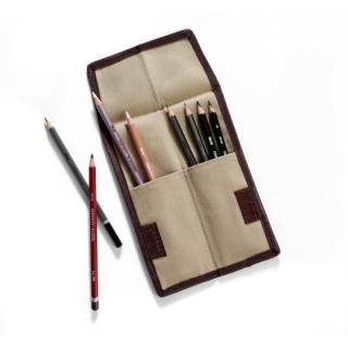 Карманный пенал-свиток Derwent для карандашей, на липучке