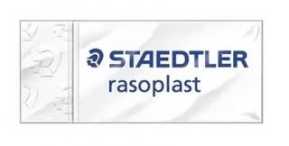 Ластик комбинированный Rasoplast combi 43x19x13 мм, блистер