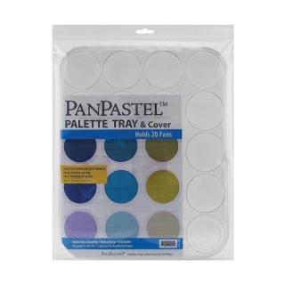 Пластиковая паллета-органайзер для пастели PanPastel, 28,5х35,5 см, 20 ячеек
