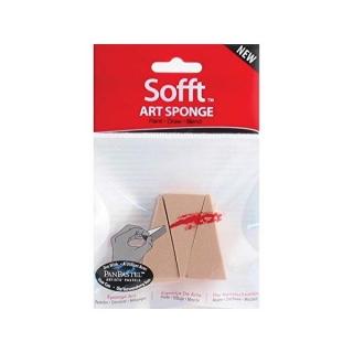 Набор клиновидных спонжей для нанесения пастели Art Sponge PanPastel, 3 штуки
